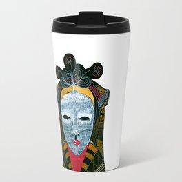 Black MASK Travel Mug