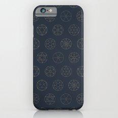 Geocircles (Blue II) Slim Case iPhone 6s