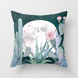 Desert Nights by Nature Magick Throw Pillow