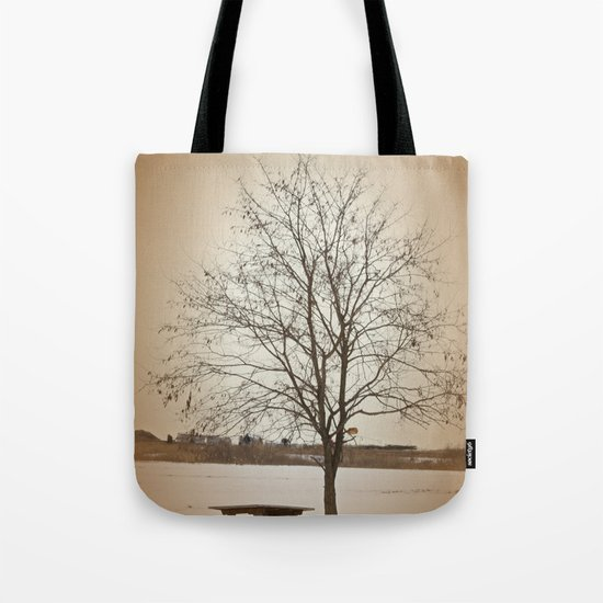 Winter Silence Tote Bag