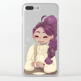I have gratitude Clear iPhone Case