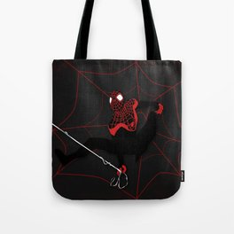 Ultimate Spider-man Miles Morales Tote Bag