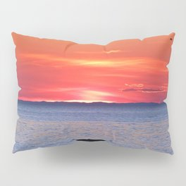 The Rock, The Sea and The Setting Sun Pillow Sham