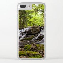 split waterfall Clear iPhone Case