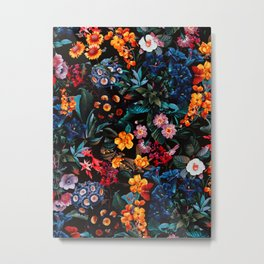 Midnight Garden XVI Metal Print