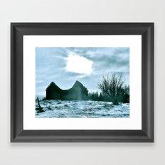 The Harshness of Winter Framed Art Print