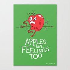 Apple Shot Canvas Print