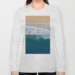 Water on the Beach (Color) Long Sleeve T-shirt