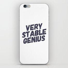 Very Stable Genius iPhone Skin
