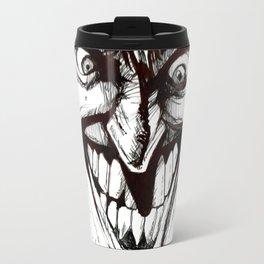 """""""Turn that Smile Upsidedown"""" Travel Mug"""