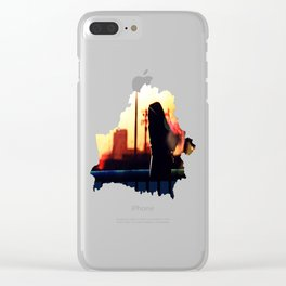 Belarusian Clear iPhone Case