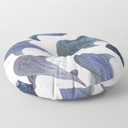 Whale Shark Pattern Party Floor Pillow