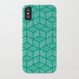 Kenna (Green) iPhone Case