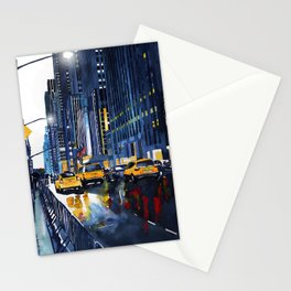 New York street Stationery Cards