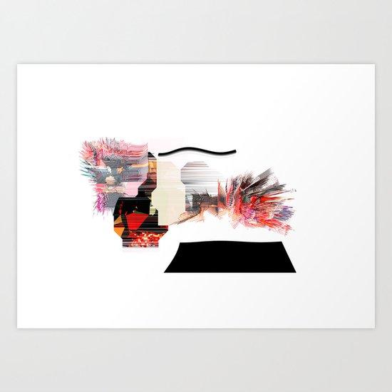 Stress Art Print