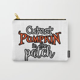 KCCreations Cutest Pumpkin in the Patch Carry-All Pouch