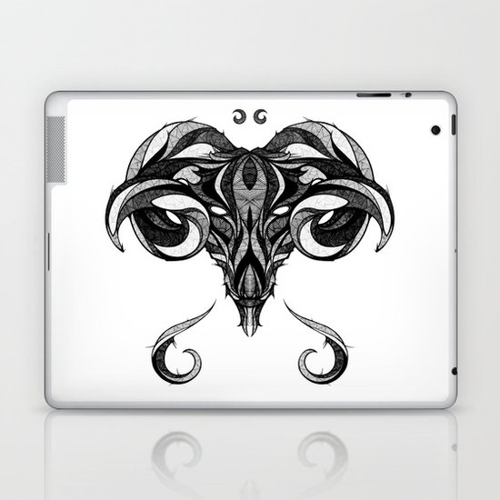 Signs of the Zodiac - Aries Laptop & iPad Skin