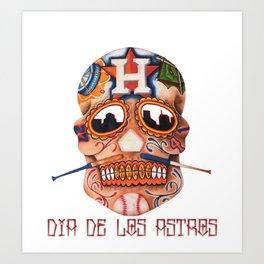 Dia De Los Astros Art Print