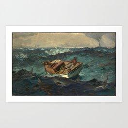 The Gulf Stream, by Winslow Homer Art Print