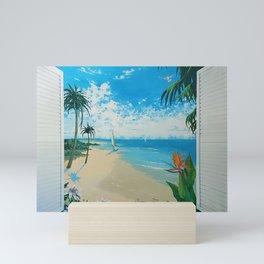 Paradise Found by Margaret Juul Mini Art Print