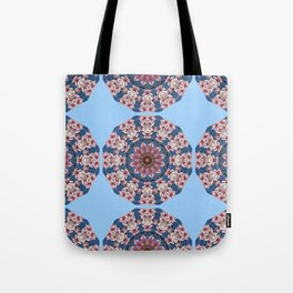 Floral mandala-style, Spring blossoms 002.2.2 Tote Bag