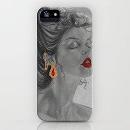 Gold pair iPhone Case