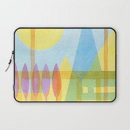 From the inside out -watercolor landscape Laptop Sleeve