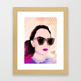 Karen Walker  Framed Art Print