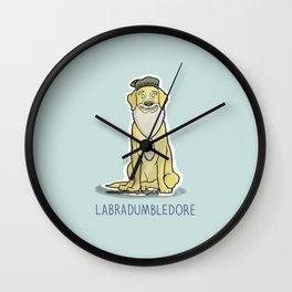 Labradumbledore Wall Clock