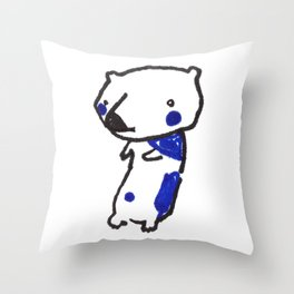 Bearly Throw Pillow