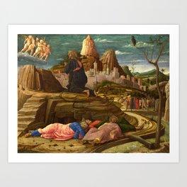 Andrea Mantegna - The Agony in the Garden Art Print