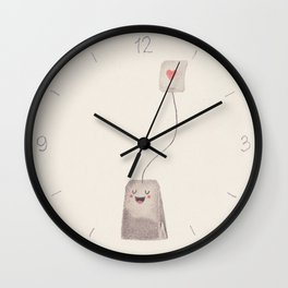 Tea Wall Clock