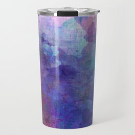 blue opal gemstone Travel Mug