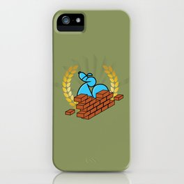 Building Bricks with Endso iPhone Case