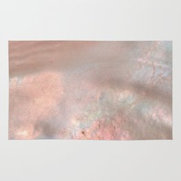 Mother of pearl in rose gold Rug