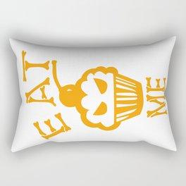 Eat me yellow version Rectangular Pillow
