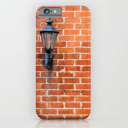Brick Wall Light iPhone Case