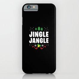 The Jingle Jungle X-Mas Christmas Belle Ring iPhone Case