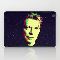 bowie iPad Cases featuring Bowie by victorygarlic - Niki