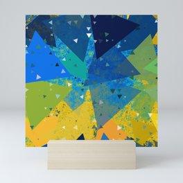 Geometric Shatter Mini Art Print