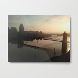 cincinnati sunrise Metal Print