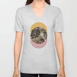 Galactic Coral Unisex V-Neck