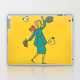 Birds (angry) Laptop & iPad Skin