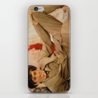 caleb troy iPhone & iPod Skins featuring Troy by Eddie Frietas