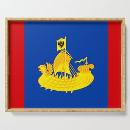 flag of Kostroma Serving Tray