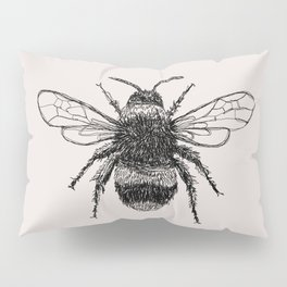 Three Bees Pillow Sham