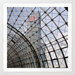 BERLIN TRAIN STATION SOUND Art Print