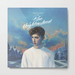 blue neighbourhood Metal Print