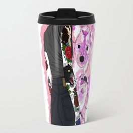 Colorfully outlines Travel Mug