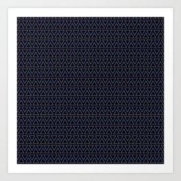 Chromatic Pattern Art Print